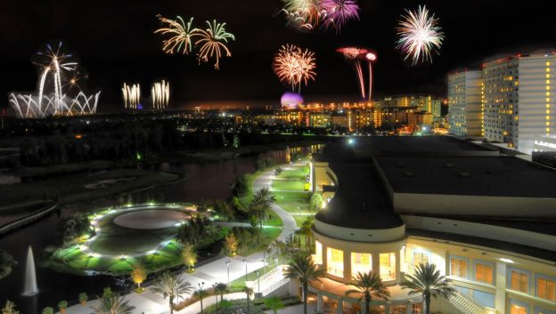 bonnet creek fireworks