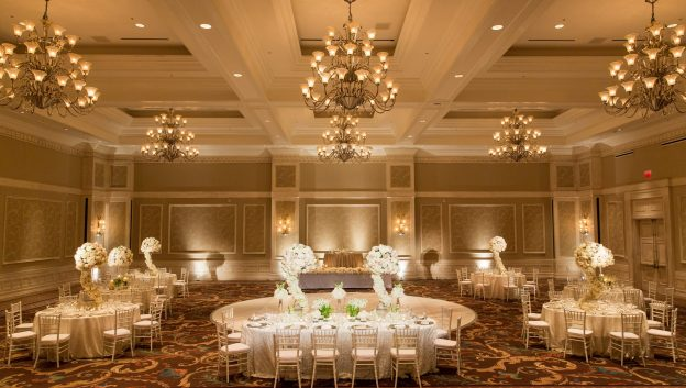Waldorf Astoria Orlando Grand Ballroom Wedding Reception