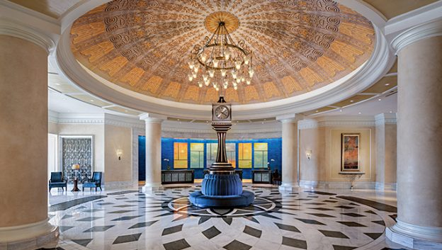 Waldorf Astoria lobby clock