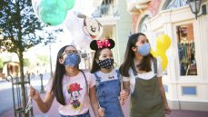Disney with family
